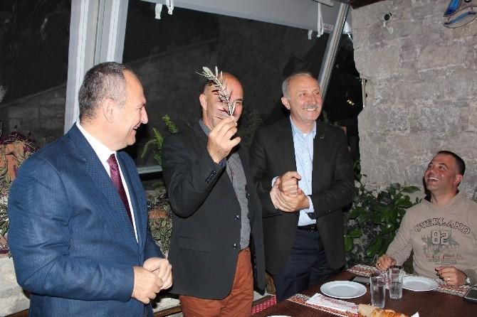 Didim Ve Leros'un Başkanları Akşam Yemeğinde Buluştu