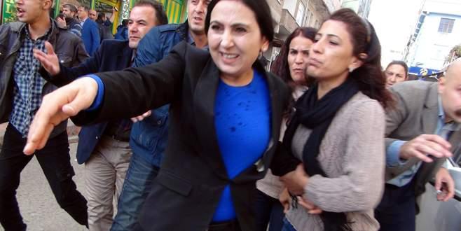 HDP heyetine polis müdahalesi
