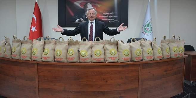 İpsala'dan G20 liderlerine hediye pirinç