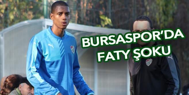 Bursaspor'da Faty şoku
