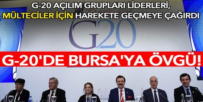 'Bursa'da başarı hikayeleri biliyoruz'