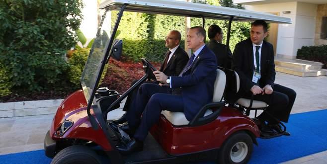 Erdoğan, Zuma ile görüştü