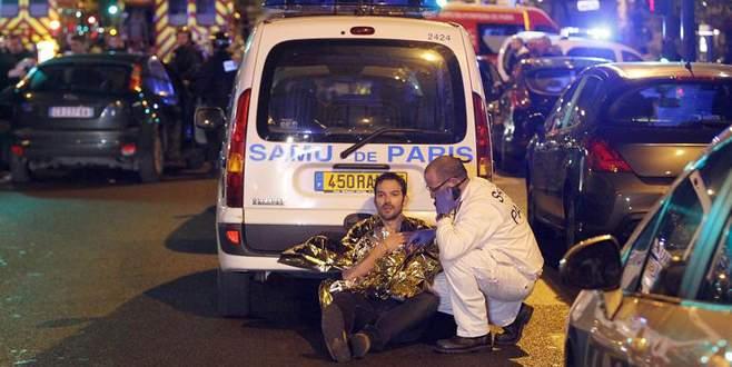 Paris'te ölenlerin sayısı 129'a çıktı