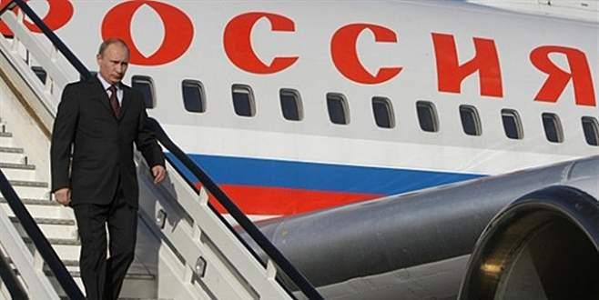 Rusya Devlet Başkanı Putin, Antalya'ya geldi