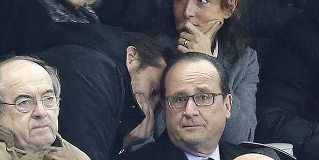 Hollande'ın saldırıları öğrendiği an!