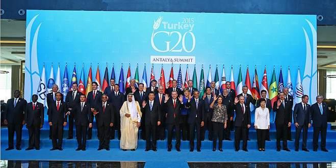 Antalya'da G20 Zirvesi
