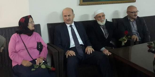 Başkan Torun'dan huzurevi ziyareti