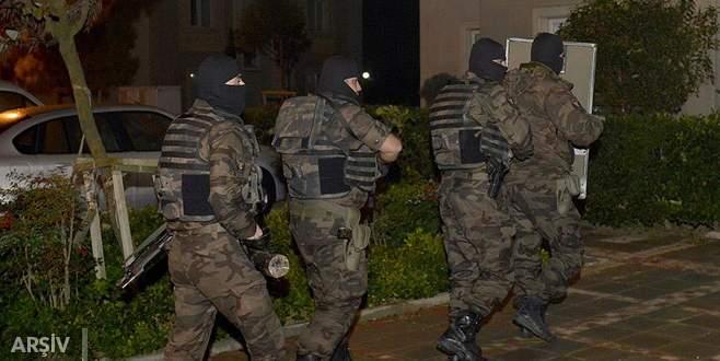 Terör operasyonu: 13 gözaltı