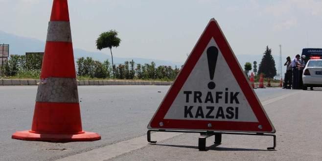 Trafik kazası geçiren asker hayatını kaybetti