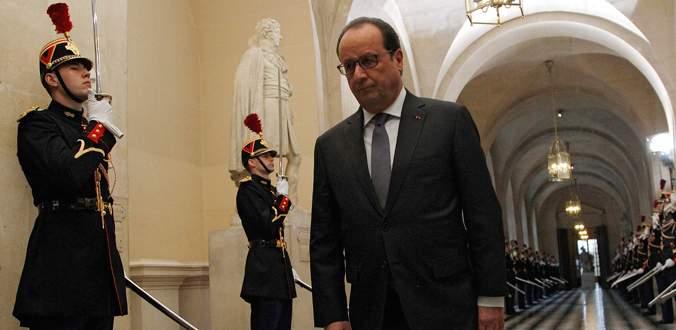 Hollande: Fransa artık savaştadır