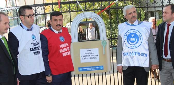 'Anadolu liselerinin son sınıfları boşaldı'