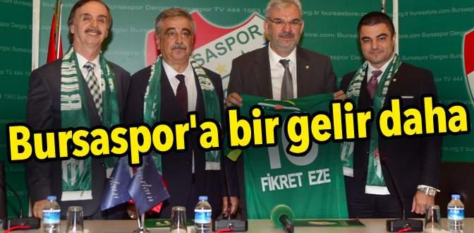 Bursaspor'a bir gelir daha