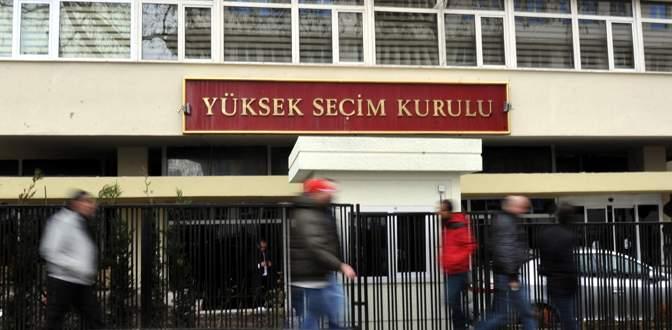 YSK'dan HDP'ye ret