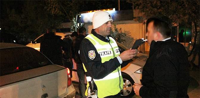 Bursa'da alkollü sürücüye geçit yok