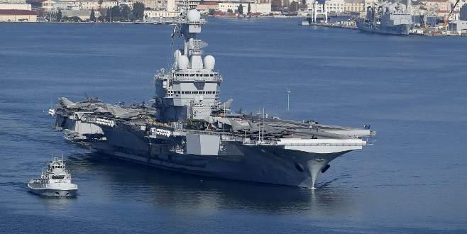 İngiltere'den Fransa'ya savaş gemisi desteği