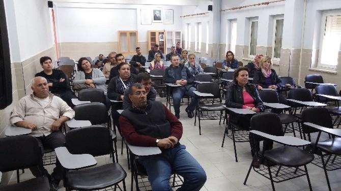 Mesleki Eğitim Merkezinden Açık Öğretim Okulları Bilgilendirme Toplantısı Yapıldı