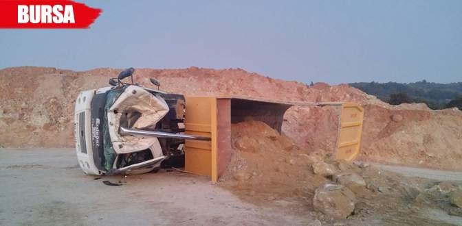 Otoyol inşaatında kaza: 1 ölü