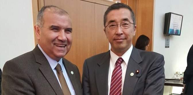 Japonlarla enerji zirvesi