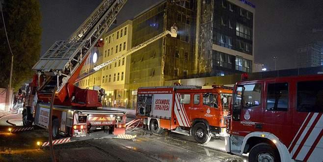 Haliç Üniversitesi'nde yangın!