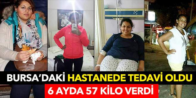 6 ayda 57 kilo vererek hayaline kavuştu