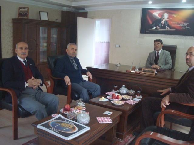 Prof. Dr. Pakiş'ten Müftülüğe Ziyaret