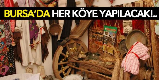 Bursa'da her köye müze geliyor