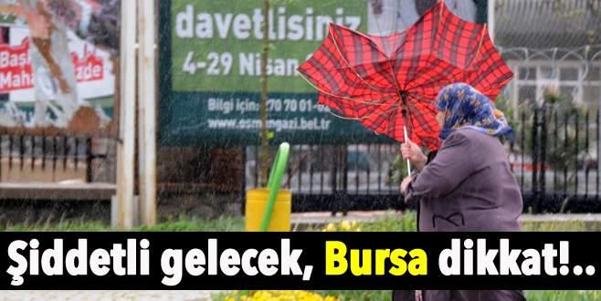 Bursa'da lodos etkili olacak, zehirlenmelere dikkat