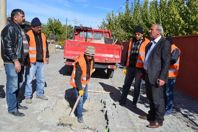 Kahta'da Kış Hazırlıkları Başladı
