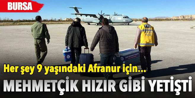 Mehmetçik, Afranur'a hayat verdi