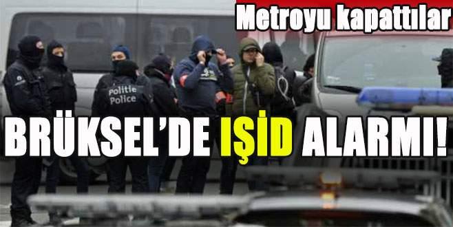 Brüksel'de IŞİD alarmı!