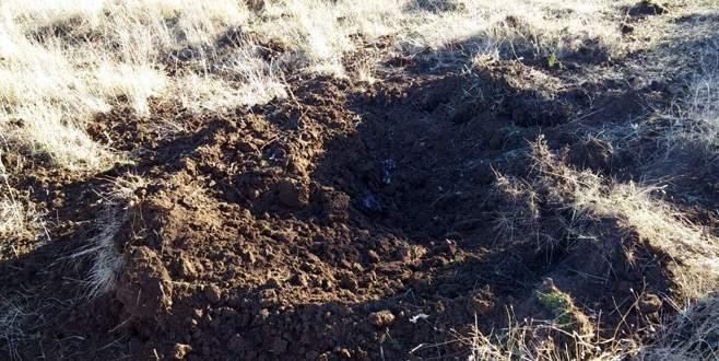Helikopter inecek bölgede gömülü 4 bomba bulundu
