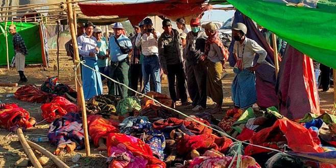 Myanmar'da facia: 90 ölü, 100 kayıp!