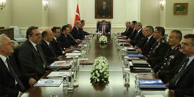 Başbakan'dan kritik 'Suriye' toplantısı