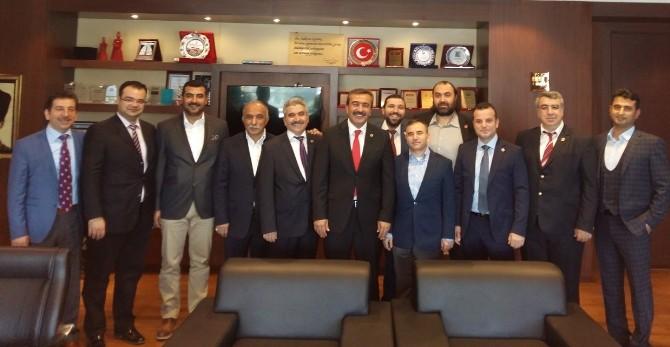 TÜMSİAD'tan Başkan Çetin'e Ziyaret