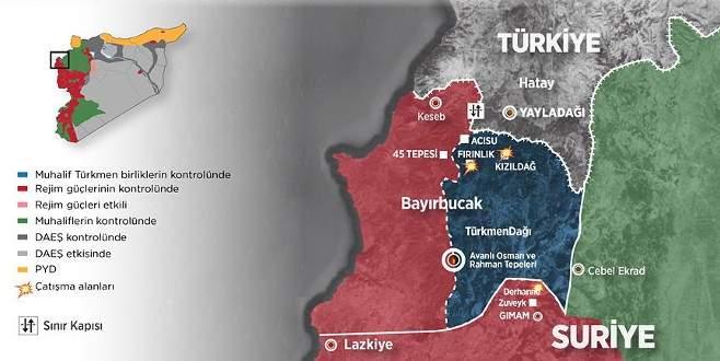 Bayırbucak'ta Türkmenlerin direnişi sürüyor
