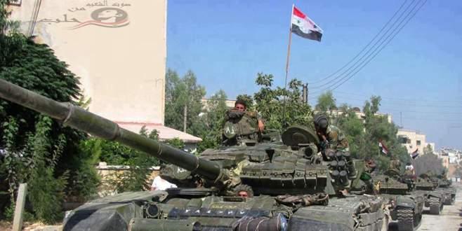 Suriye ordusu sınıra dayandı