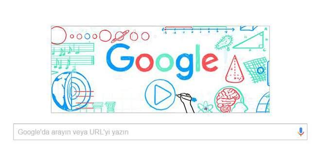 Google'dan Öğretmenler Günü'ne özel doodle