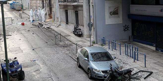 Yunanistan'da işadamları derneğine bombalı saldırı