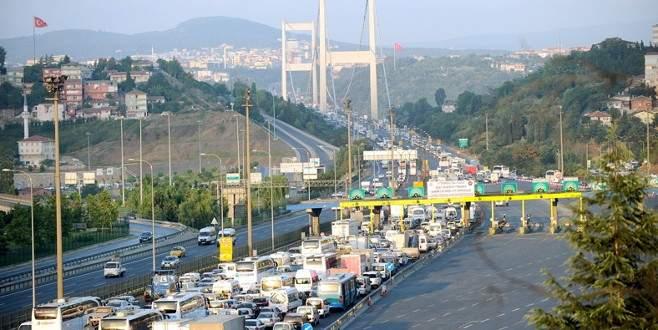 Köprü ve otoyol gelirleri yüzde 3 arttı