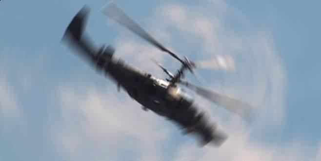 Suriyeli muhalifler Rus helikopterini vurdu