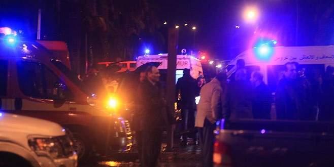 Polis otobüsünde patlama: 12 ölü