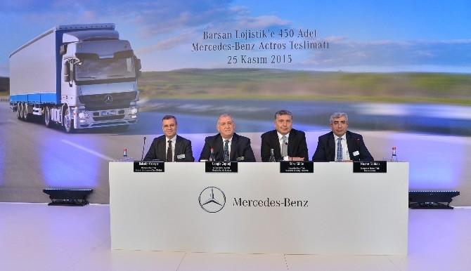 Mercedes-Benz Türk Sektörün En Büyük Filo Satışını Gerçekleştirdi