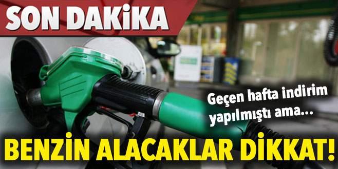 Benzin alacaklar dikkat!