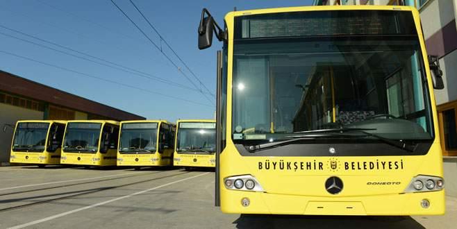 Sarı otobüsler İnegöl'e gidecek