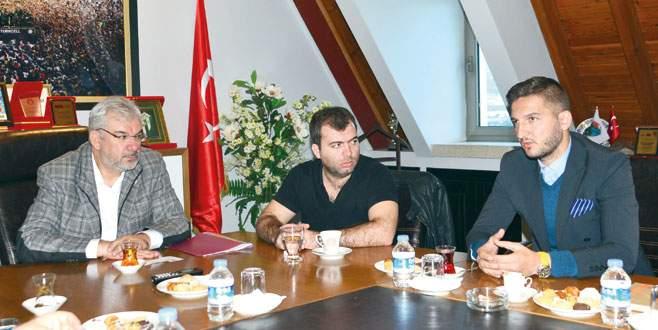 Skenderbeu'dan işbirliği ziyareti