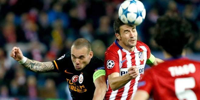 Atletico Madrid 2-0 Galatasaray