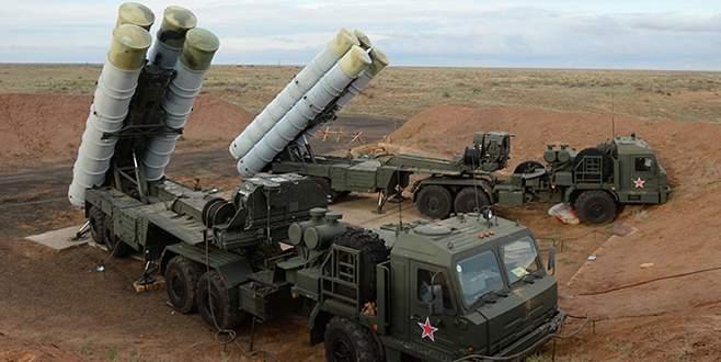 Rusya S-400'leri Suriye'de
