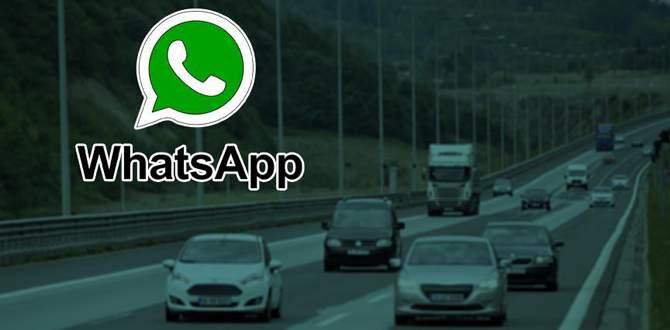 Trafikte WhatsApp'tan ceza dönemi!