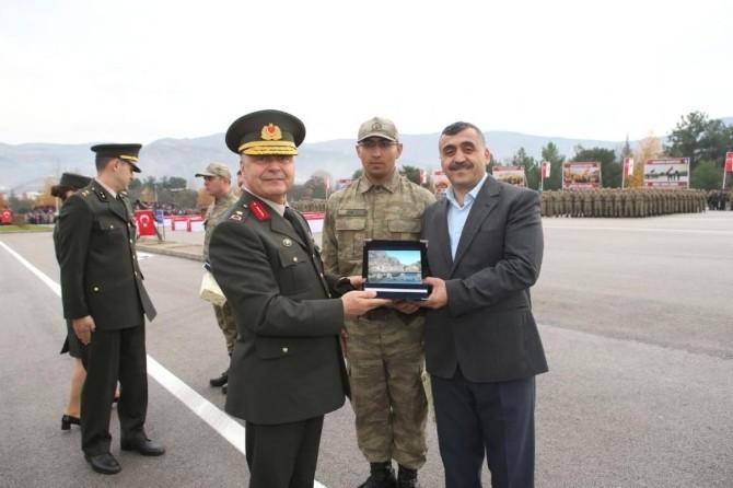 Amasya'da Askerler Yemin Etti