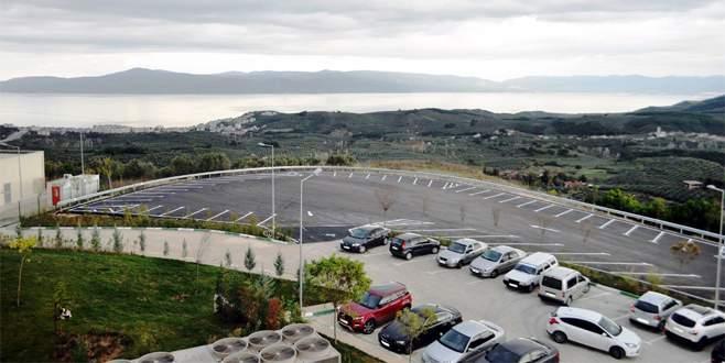 Büyükşehir'den Mudanya Devlet Hastanesi'ne otopark